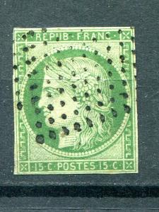 France # 2 used  F-VF  Cat $900