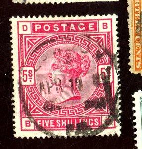 GB #108 USED FVF Cat $250
