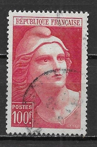 France, 556, Marianne Type Single,**Used** (z1)