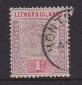 Leeward Islands Sc#2 Used - Postmark Cancel Montserrat