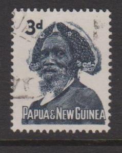 Papua New Guinea Sc#154 Used