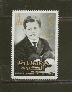 Fujeira 28 John F Kennedy 1965 MNH