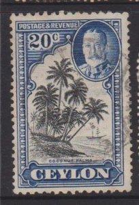 Ceylon Sc#270 Used