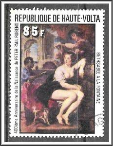 Upper Volta #448 Rubens Paintings CTO