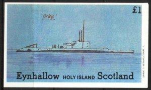 {E022} Eynhallow Scotland Ships Submarines S/S MNH Cinderella !!