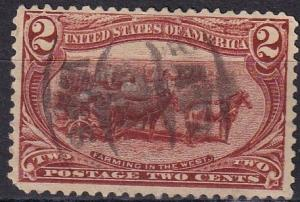 US #286  F-VF  Used  CV $2.75 (A19632)