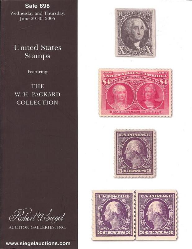 United States Stamps Featuring the W.H. Packard Collectio...