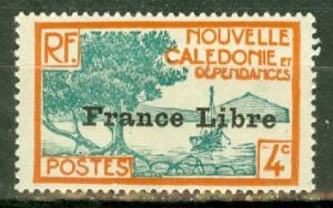 New Caledonia 220 mint CV $13.50