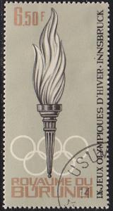 Burundi 70 IX Winter Olympic Games, Innsbruck 1964