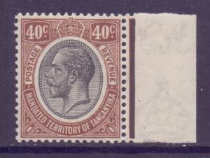 Tanganyika Scott 36 - SG99, 1927 George V 40c MH*