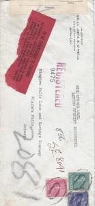 1942, Buffalo, NY to Niagara Falls, Ont., Canada, See Remark (C2229)