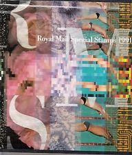 1991 Great Britain Royal Mail Special Stamps Collection Yearbook