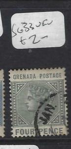 GRENADA   (PP1903B)  QV   4 D  SG 33       VFU