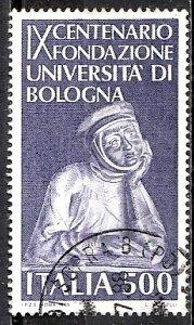 Italy 1988 S.G. 2001 used (1233)