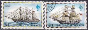 Falkland Islands #273-4 F-VF Used CV $18.50  Z588