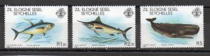 Seychelles - Zil Elwannyen Sesel 20-22 MNH