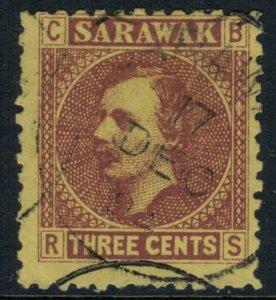 Sarawak #2 CV $4.00