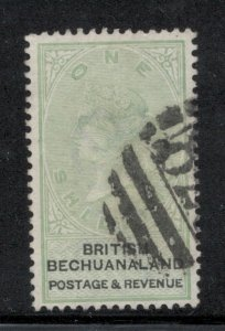 Bechuanaland Protectorate 1887 Queen Victoria 1sh Scott # 16 Used