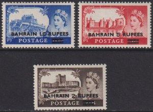 1955 Bahrain complete castle set MNH Sc# 96 97 94 98 CV $36.75
