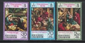 British New Hebrides 1977 Charolais Bull Surcharge 500fr on 10fr Scott # 229 MNH
