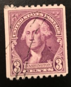 722 Washington Series, Circulated Single, vert. coil, Vic's Stamp Stash