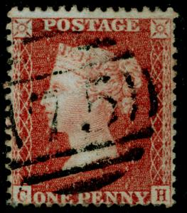 SG29, 1d red-brown, LC14, FINE USED. Cat £22. CH