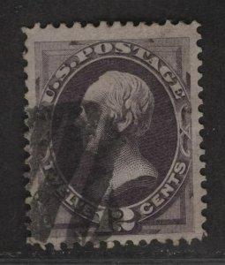 $US Sc#151 used, VF Cv. $200