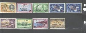 TONGA 1967 #182-190 + #C34-C38 + #CO12 - CO14 MNH