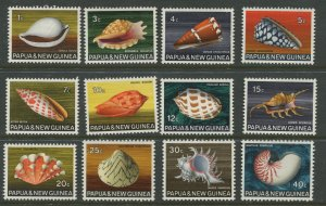 STAMP STATION PERTH Papua New Guinea #265-276 Pictorial Definit MNH 1980 CV$15