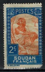 French Sudan - Scott 62 MH