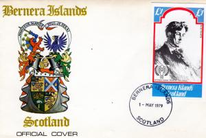 Bernera Islands 1979 International Year of The Child (ICY) S/S (1) FDC