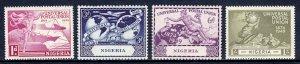 Nigeria - Scott #75-78 - MNH - Short perf #76 - SCV $2.80