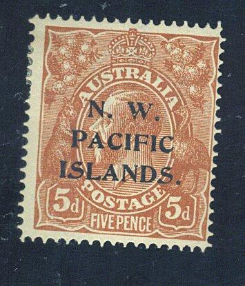 North W Pacific Is #17 MINT F-VF OG HR Cat$13