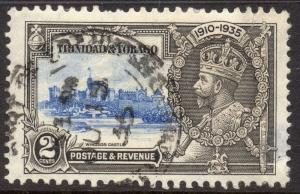Trinidad and Tobago 1938 GVI Early Issue Fine Used 2c. 082936