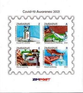 Zimbabwe - 2021 COVID-19 Awareness MS MNH**