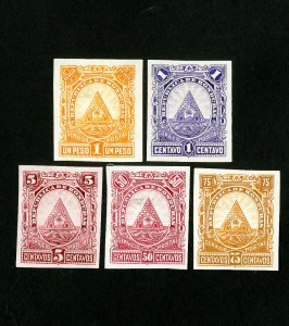 Honduras Stamps VF Lot of 5 proofs