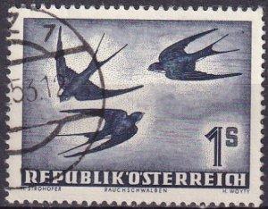 Austria #C55 F-VF Used  CV $16.00 (Z3007)