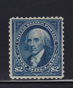 262 VF unused ( mint no gum ) with nice color cv $ 1100 ! see pic !