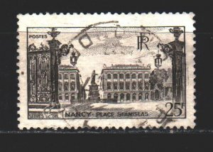 France. 1947. 761. Palace in Nancy. USED.