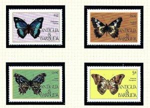 Antigua 850-53 MNH 1985 Butterflies        (KA)