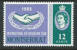 Montserrat SG 178 Mint Very Light Hinge
