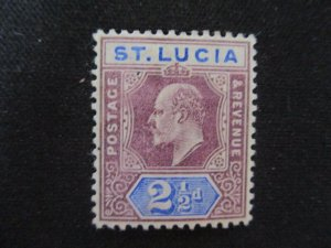 St. Lucia #52 Mint Hinged WDWPhilatelic (H6L7)