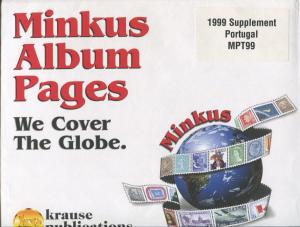 Minkus Postage Stamp Album Supplement Notes 1999 Portugal #MPT99