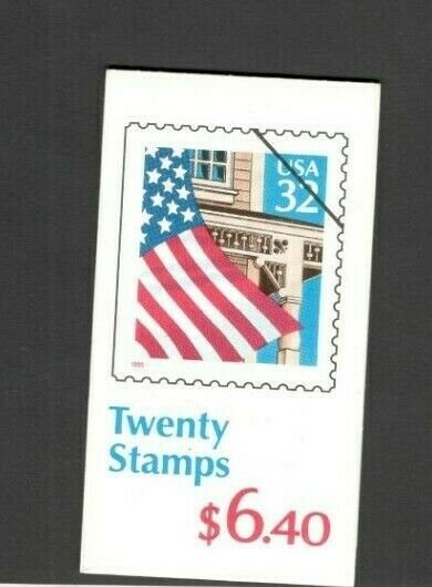 BK226 Flag Over Porch Booklet Of 20 Mint/nh (Free Shipping)