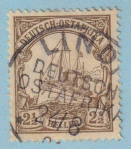 GERMAN EAST AFRICA 31  USED - INTERESTING CANCEL - NO FAULTS EXTRA FINE!
