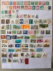 German 100+ stamps - Lot 19