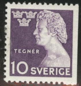SWEDEN Scott 379 MNH** 1946 stamp