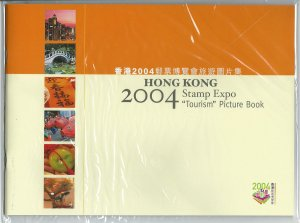 Hong Kong 2004 Stamp Expo Tourism Picture Book. No stamps included