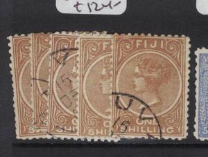 Fiji SG 64-7, 67a VFU (5dsn)