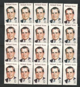 US Postage Stamps 2955 Richard Nixon Wholesale Lot Of 20 US Stamps Mint/n